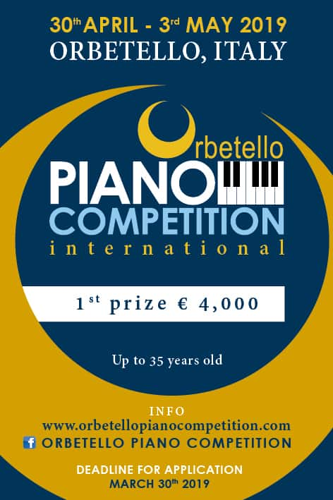 Orbetello International Piano Competition - Orbetello International